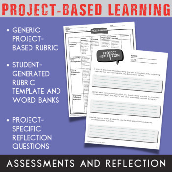 Project-Based Learning Planning Template {Printable and Digital Option}