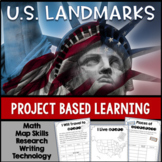 US LANDMARKS Research and Travel PBL | PROJECT BASED LEARNING SOCIAL STUDIES