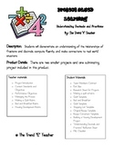 Project Based Learning:  Understanding Fractions and Decimals