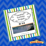 Project Based Learning:  Vacation Portfolio (Grades 3-5)