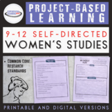 Project-Based Learning: Women's Studies (for mid-level PBL