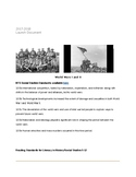 World War I and II- World History Project Based Learning L