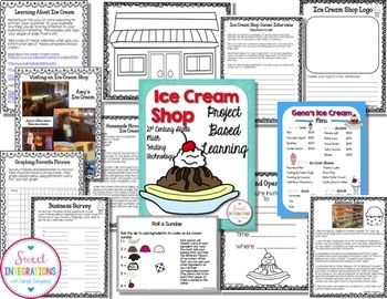 PROJECT BASED LEARNING and ECONOMICS Bundle: Math, Research, Entrepreneurship