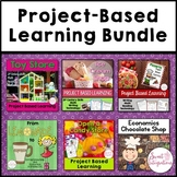 PROJECT BASED LEARNING ECONOMICS BUNDLE: Math, Research, Entrepreneurship