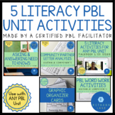 Project Based Learning ELA Activities and Ideas