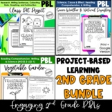 Project-Based Learning for 2nd Grade Bundle: Science, Math, and ELA Projects