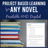 Project Based Learning for ANY NOVEL