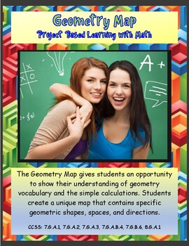 Project Based Learning with Math – Geometry Map
