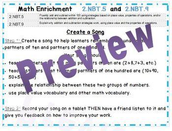 Project Based Math Enrichment