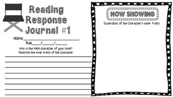 Project Based Reading Menu