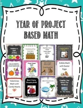 Project Based and Entire Year of 4/5 Spiral Math