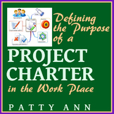 Graphic Arts PROJECT CHARTERS: Purpose, Pointers, Examples, How-to Design Charts