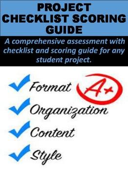 Project Checklist & Scoring Guide