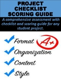 FREE Project Checklist Scoring Guide