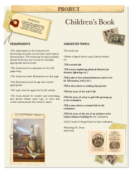 Project: Children's Book