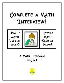 Project: Complete a Math Interview