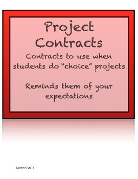 Project Contract