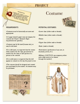 Project: Costume