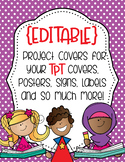 Project Covers Set 4 {EDITABLE}