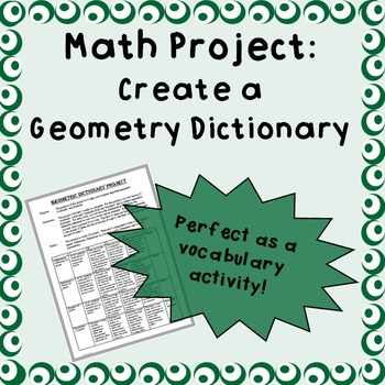 Geometry Dictionary - A Project