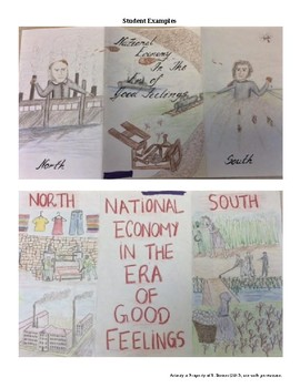 Project - Creating a National Economy in the Era of Good Feelings