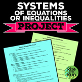 Project: System of Equations OR Inequalities