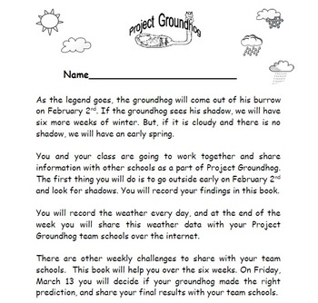 Project Groundhog Student Book