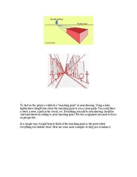 Project Handout Art Assignment: Vanishing Point / Make 2D look 3D / Perspective