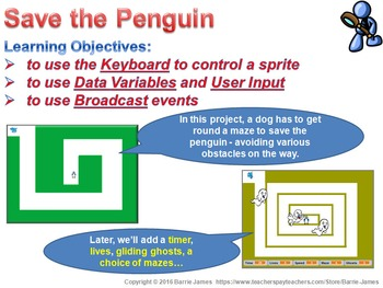 Scratch Project I: Save the Penguin
