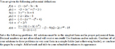 Algebra 2 Project: Introduction to Polynomials