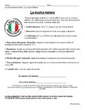 Project: La Musica Italiana