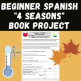 """Project """"Las Estaciones"""" Spanish 4 seasons book"""