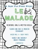 Project: Le Malade (direct & indirect object pronouns, l'i