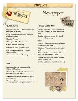 Project: Newspaper