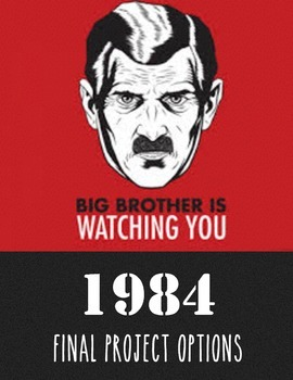 Project Options for 1984 by George Orwell