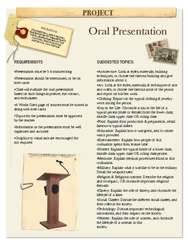 Project: Oral Presentation