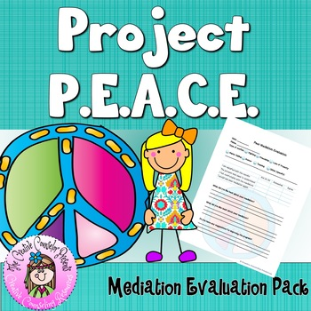 Project PEACE Peer Mediation Conflict Resolution-Mediation
