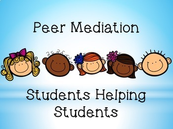 Project PEACE Peer Mediation Conflict Resolution-Publicity Packet.