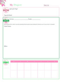 Project Planner_For Planning Your Products