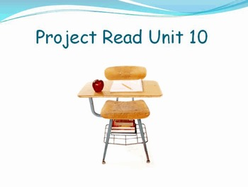 Project Read Unit 10 Activ flipchart