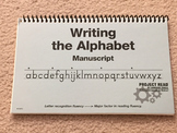 Project Read - Writing the Alphabet - Manuscript