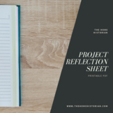 Project Reflection Sheet