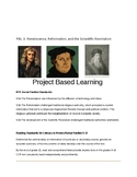 Project- Renaissance, Reformation, and the Scientific Revo