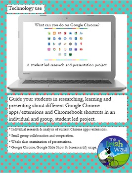 Chrome App, Extensions & Chromebook Shortcuts - Google Research Project