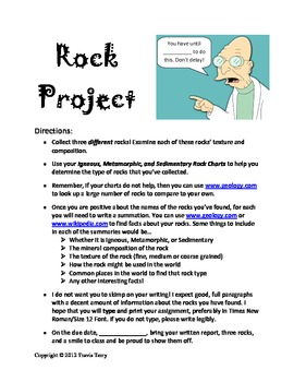 Project: Rock Collection