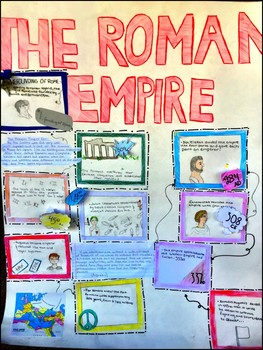 project roman empire annotated timeline by around the world in 180 days