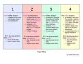 Project Rubric - Horizontal Color