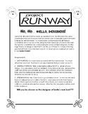 Santa Needs A Makeover- Project Runway Readers Theater Packet