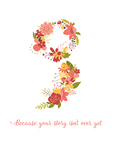 Project Semicolon - Because Your Story Isn't Over Yet 5 x 7 Print