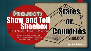 Show and Tell Shoebox: States or Countries